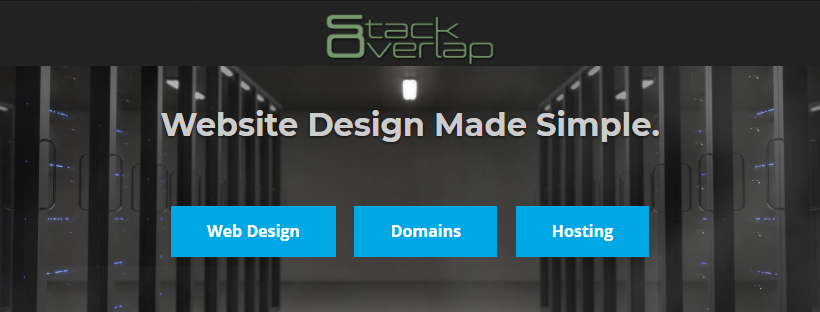 Stack Overlap - Web Design, Domains, and Hosting
